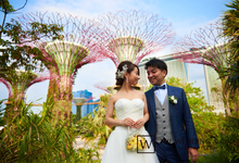 wedding photo at garden by the bay by MASAMI