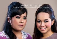 portofolio make-up by studio conny - makeup