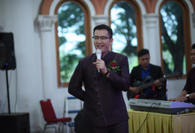 Indoor Wedding Reception by Matius Utomo Master of Ceremony