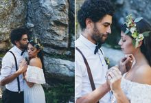 INTIMATE WOODLAND ELOPEMENT INSPIRATION by Sweetphotofactory