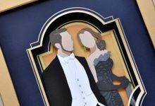 The Wedding of Maverick & Christy by Paperitten