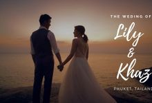 Wedding at Impiana Private Villas Kata Noi, Phuket Thailand (western) by KORO FILMS