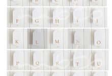 Alphabet Gift Tag by MBTB
