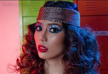 1970s Disco Theme Hair & Make Up by Gale Dy Make Up Artistry