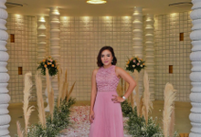 Wedding of Erika and Dave by MC Nirmala Trisna