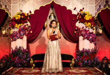Indian-themed Wedding Reception of Hari & Chandra by MC Nirmala Trisna