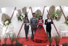 The wedding of Rendy and Tutut Rinawati by Samuel Tandio MC