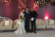 Wedding of Adrian & Nessia by MC Samuel Halim