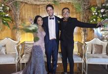 Wedding of Bas De Jong & Putri Naya by MC Samuel Halim