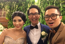 Wedding of Obrey & Tasya by MC Samuel Halim