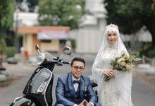 Wedding Rustic Ilham & Rara by LAKSMI - Kebaya Muslimah & Islamic Bride