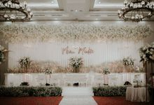 Reception of Mario & Dita by WYMM Organizer