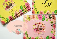 Wedding Guest Book by Fauste Souvenir