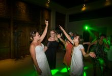Villa Semara Wedding of Megan and Will by EYECON Photography Bali