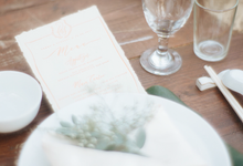 Ferry & Stefani Wedding by Meilifluous Calligraphy & Design