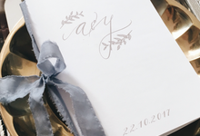 Aldian & Yoanna by Meilifluous Calligraphy & Design