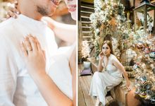 Mel and Shie's Engagement in Bag of Beans, Tagaytay by Sunset and Pines Studio