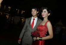 Melvina & Bhre by ProjectDEA Wedding Planner