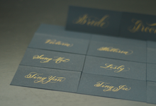 Melissa ••• Place Cards by Lemonpassion Calligraphy