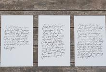 Calvin & Liestyani Wedding by Memoir Paperie