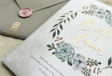 "The Wedding of ""Ronald & Karina"" by Memoir Paperie"