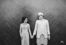 BEAUTIFUL IN BLACK AND WHITE by  Menara Mandiri by IKK Wedding (ex. Plaza Bapindo)