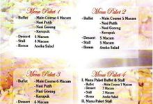 daftar paket wedding catering by gens catering
