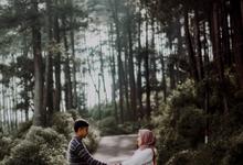 Pre-Wedding of Arum & Umam by Merayakan_kata