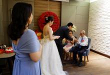 Sky Ball Room Wedding Jensen & Chelia by Mercure Jakarta Sabang