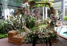 Lobby Area Wedding Aditya & Gladys by Mercure Jakarta Sabang