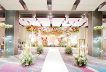 Lobby Area Wedding Niki & Charisti by Mercure Jakarta Sabang