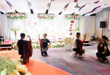 Lobby Area Wedding Yohana & Diego by Mercure Jakarta Sabang