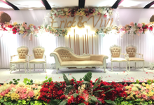 Lobby Area Wedding Erick & Vivi by Mercure Jakarta Sabang