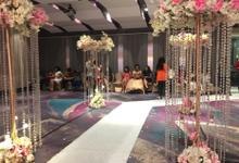 Lobby Area Wedding Erick & Vivi by Mercure Jakarta Sabang