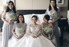 BILLIE MERRIE WEDDING by bridestore indonesia
