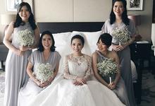 BILLIE MERRIE WEDDING by bridestore indonesia