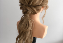 Hairstyle reference by Merryfish Makeup and Hair