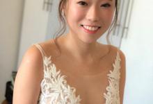 Bride Jade Actual day makeup & hair by Merryfish Makeup and Hair