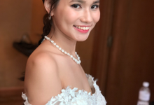 Bride Arabelle Actual Day by Merryfish Makeup and Hair