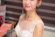 Bride Wenxiu Actual Day by Merryfish Makeup and Hair