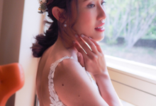 Bride Rachel big dat by Merryfish Makeup and Hair