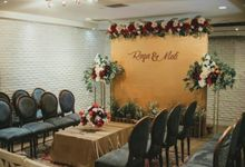 Meti & Reza Engagement Decoration by Nona Manis Creative Planner