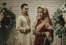 Meti & Reza Engagement Decoration by Nona Manis Creative Planner