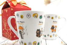 Con Mug Include Paperbag & Printing Decal by Fine Souvenir