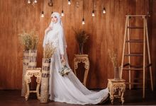 Laksmi New Collection Photoshoot Ivory Dress Photoshoot by LAKSMI - Kebaya Muslimah & Islamic Bride
