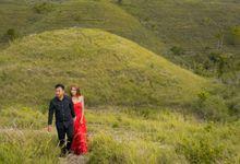 teletubies nusa penida pre wedding by mopict studio