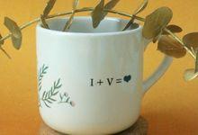 Ivan & Vania by Mug-App Wedding Souvenir