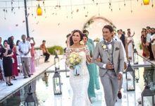 The Wedding Of Mia and Reydi at Plenilunio Villa  by Classicku Bali Wedding