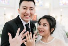 The Wedding Of Michael & Fefe by Sparkling Nail