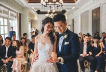 Shangri-La Hotel Solemnization by Darren and Jade Photography